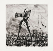 West Coast Etchings: Secetur by William Kentridge at Frances Keevil Gallery