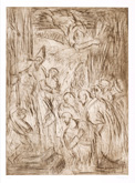From Veronese:  The Consecration of Saint Nicholas by Leon Kossoff at Annandale Galleries