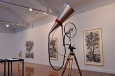 Kinetic Sculpture (Megaphone) by William Kentridge at Annandale Galleries