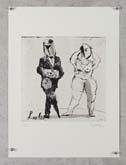 Untitled (Lulu and Schon) by William Kentridge at Annandale Galleries
