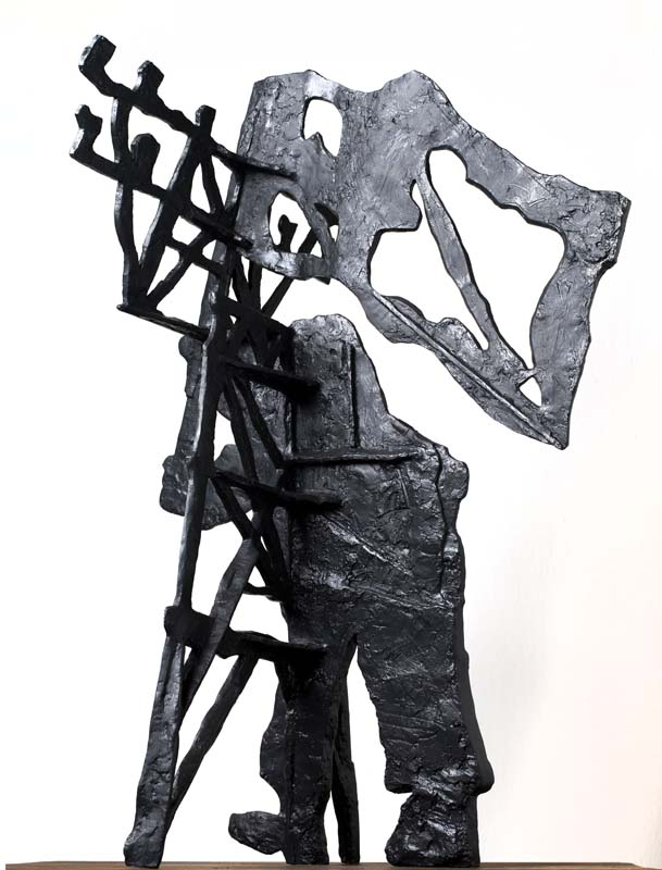 William Kentridge Right Into Her Arms