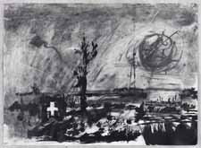 Untitled (Drawing from Wozzeck 2) by William Kentridge at Annandale Galleries