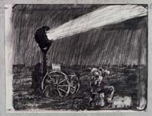 Untitled (Drawing from Wozzeck 61) by William Kentridge at Annandale Galleries