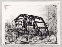 Untitled (Drawing from Wozzeck 13) by William Kentridge at Annandale Galleries