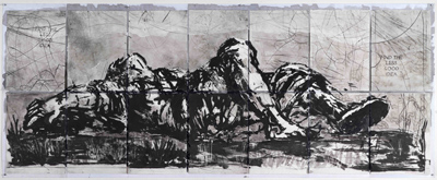 Death of Remus by William Kentridge at Annandale Galleries