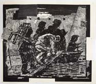 The Flood by William Kentridge at Annandale Galleries