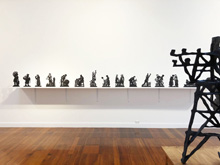Installation Image by William Kentridge at Annandale Galleries
